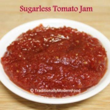Sugarless Tomato Jam