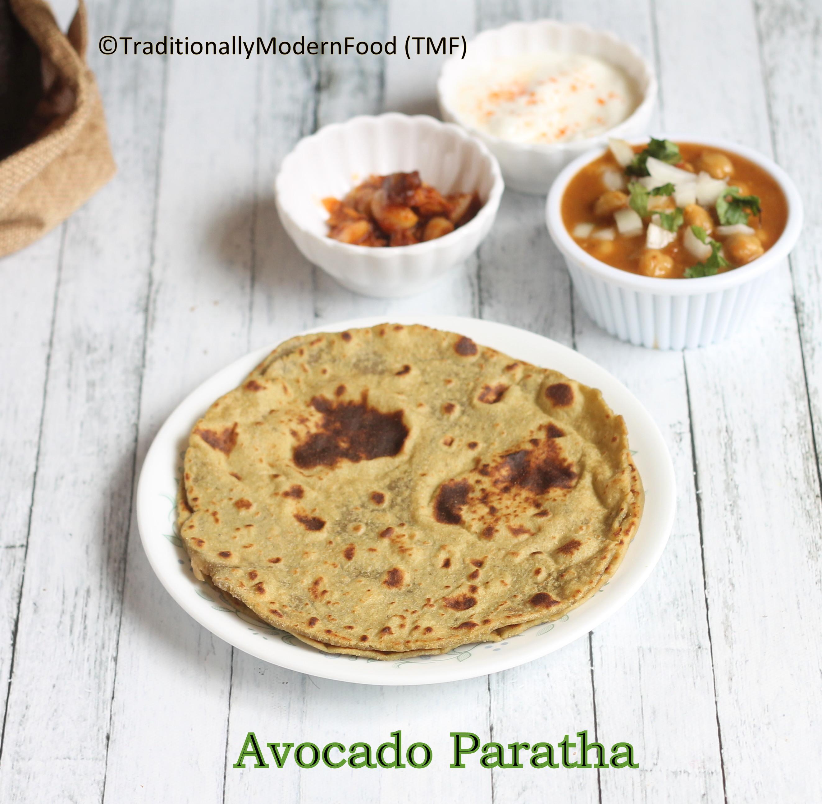 avocadoparatha