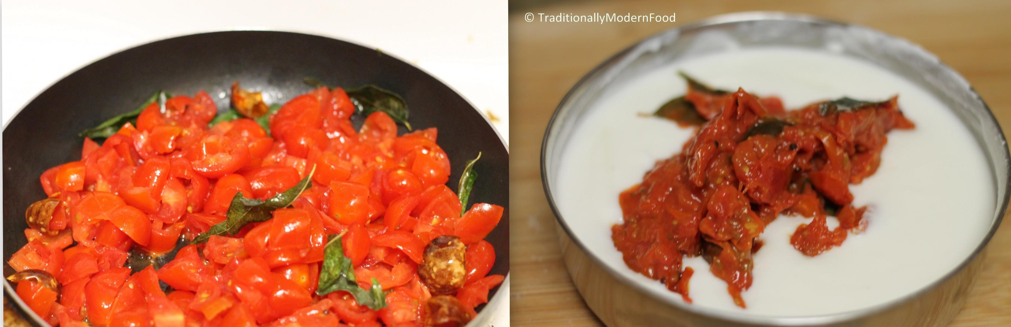 tomatoperugupachadi