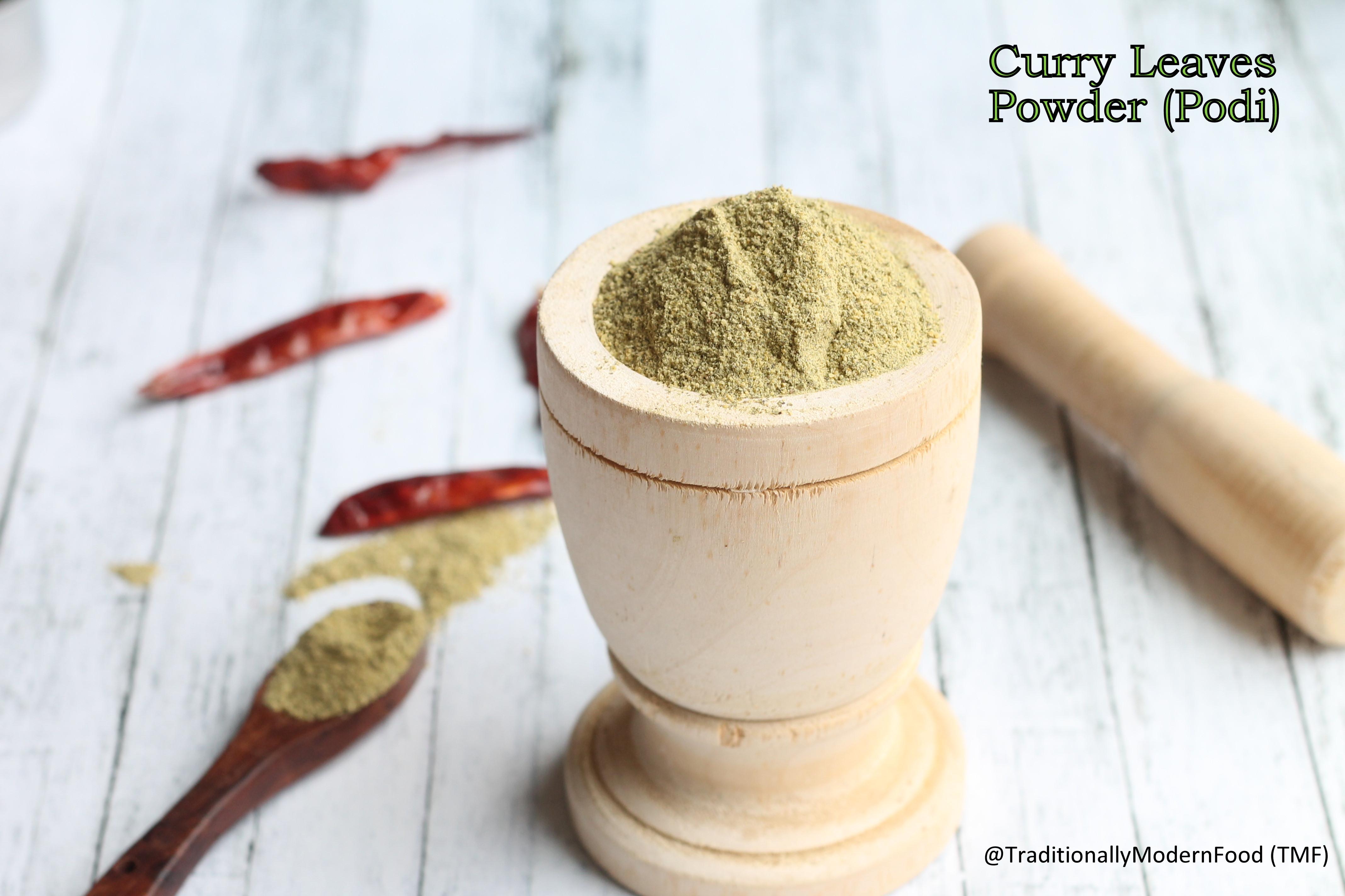 Curryleaves podi