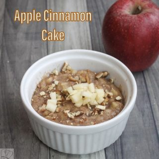 Apple cinnamon cake